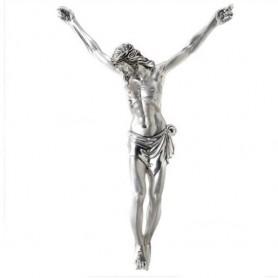 Valenti argenti - Cristo in resina rivestito in argento.