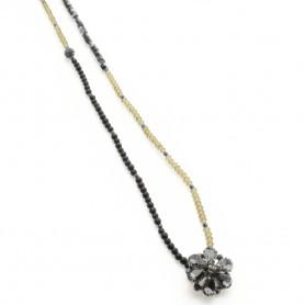Ottaviani - Collana con perline e cristalli. 470738.
