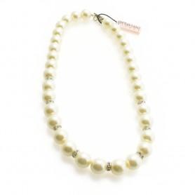 Ottaviani - Collana con perle e cristalli. 48374