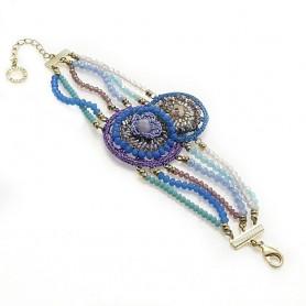 Ottaviani - Bracciale con cristalli e perline. 470332