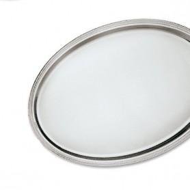 Greggio - Vassoi ovali inglese senza manici argento 925. Varie misure.