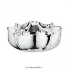 Greggio - Ciotola ovale argento Eva