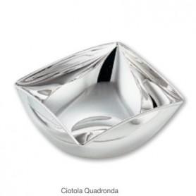 Greggio - Ciotola argento Quadronda