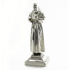 """Arteregalo - Scultura argento """"Padre Pio"""""""