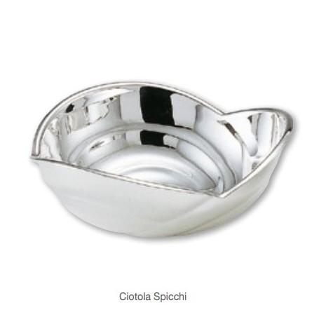 Greggio - Ciotola argento Spicchi