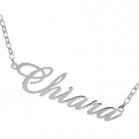 Artlinea - Collana argento personalizzabile con nome.