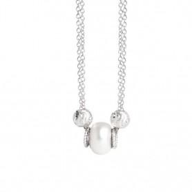 Boccadamo - Collana collezione Leika in perla swarovski white.